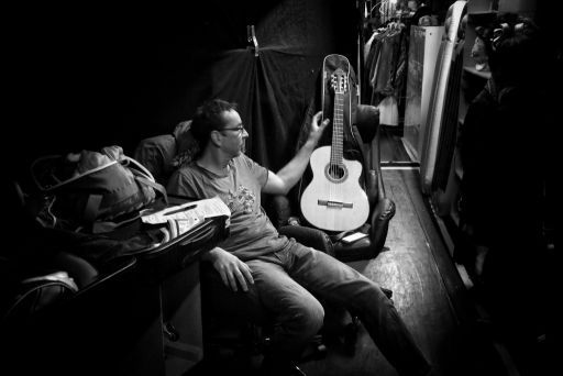 Backstage. Fred Timm, Schmidt Theater Hamburg 2017